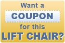 Get a coupon on this lift chair!