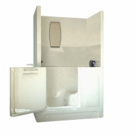 Sanctuary Shower Enclosure Walk-In Tub, Medium